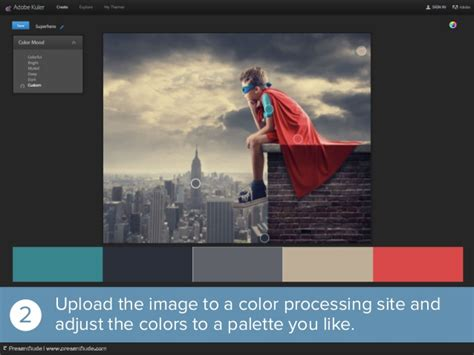 how to create a presentation color theme from a photo how to create a presentation color theme from a photo