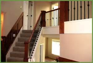 banister railing installation easy to install custom newel posts banisters railings by