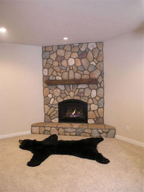 stone corner fireplace corner fieldstone fireplace with insert fireplace bliss