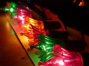multi colored tree lights vintage tree light string multi colored flower