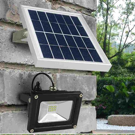 Outdoor Best Security Solar Powered Led Flood Lights Hinergy Best Solar Powered Flood Light