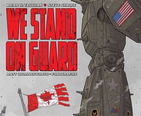 we stand on guard 8416767815 4ln comic review we stand on guard 1 4ln four letter nerd