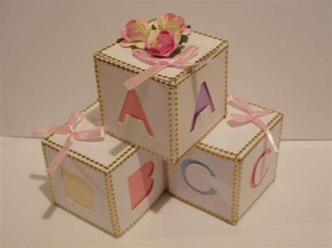 baby blocks template display box