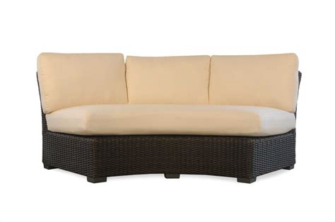 sectional sofa cushion replacement lloyd flanders mesa curved sofa sectional replacement seat
