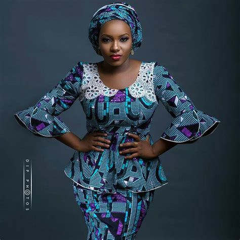 latest nigeria ankara style blouse and skirt latest ankara skirt and blouse style archives trensty