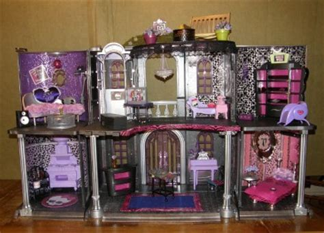 custom monster high doll house monster high barbie bratz doll house ooak custom made lots of pictures