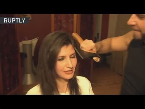 cool hairstyles to do eith axe gel within hair s breadth russian stylist changes scissors