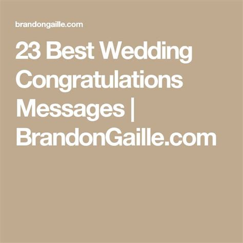 Wedding Congratulations Messages by 17 Best Wedding Congratulations Quotes On