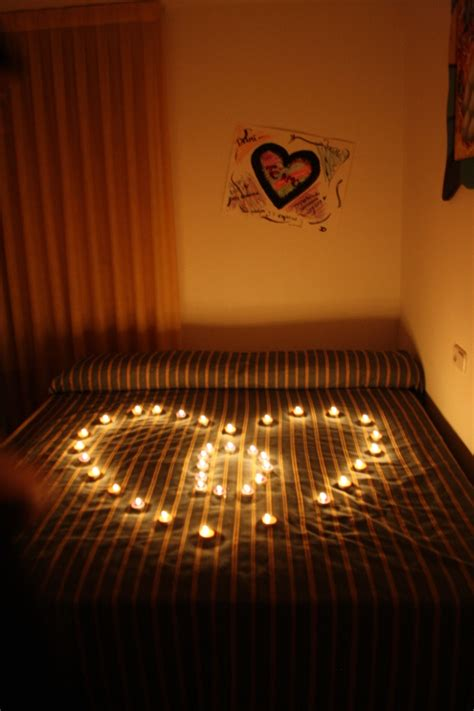 how to surprise your boyfriend in bed surprise i did for my boyfriend lovely love pinterest beautiful tea lights