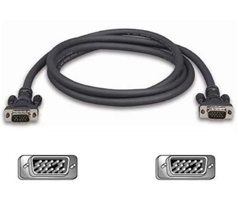 Vga 15 Pin To Cable For Lcd Monitor Projector Normal Quali 1 10m vga svga 14 pin cable lead pc to lcd crt monitor tv for sale in clondalkin dublin from