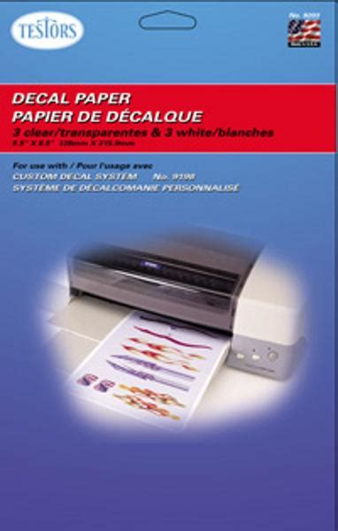 How To Make Decal Paper - decal paper clear hobby simulator accessory 9201 by