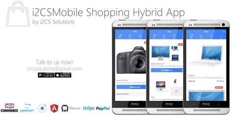 mobile shopping woocommerce mobile shopping cart app with api by i2cs