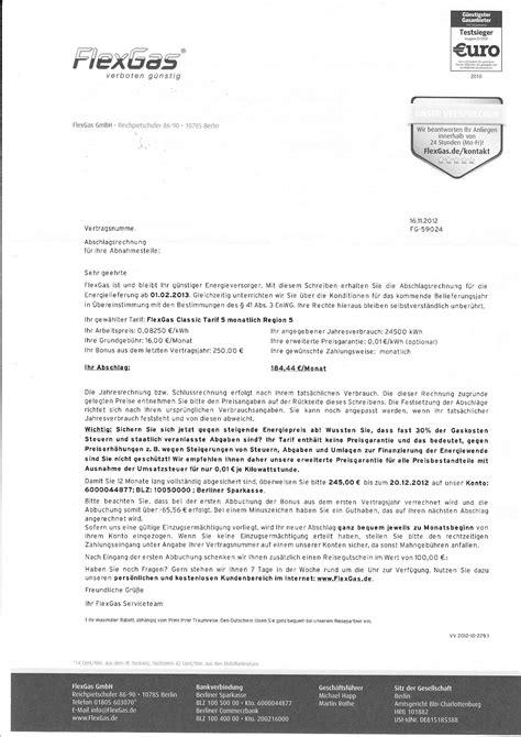 Anschreiben Preiserhohung Flexgas Enorme Preiserh 246 Hung Nach Einem Jahr Computerbase Forum