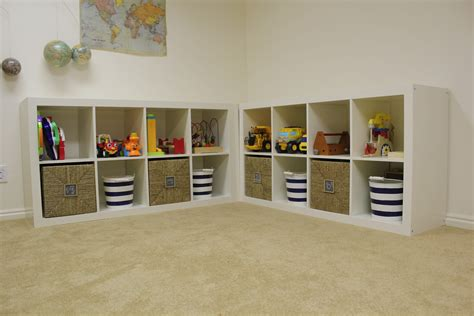 toy room storage everywhere beautiful playroom update toy storage