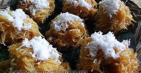 resep sawut singkong kukus gula merah resep aneka