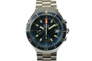 1974 omega seamaster chronograph big blue for sale
