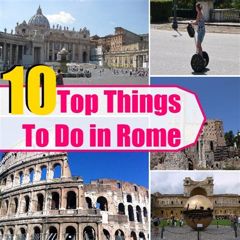 the best things to do in rome top 10 things to do in rome travel me guide