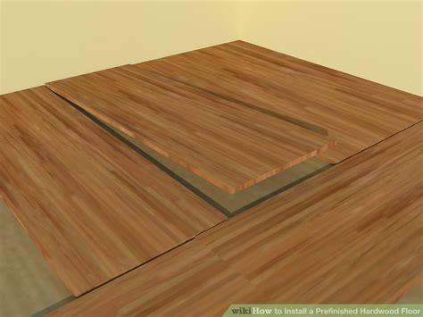 Prefinished Hardwood Flooring Installation How To Install A Prefinished Hardwood Floor 10 Steps