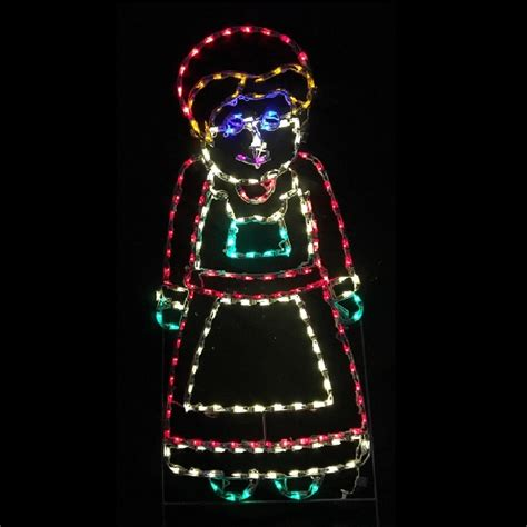 Outdoor Lighted Santa Claus Lighted Outdoor Decorations Lighted Santa Claus Decorations Christmastopia