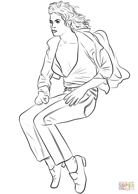 michael jackson coloring pages michael jackson coloring page free printable