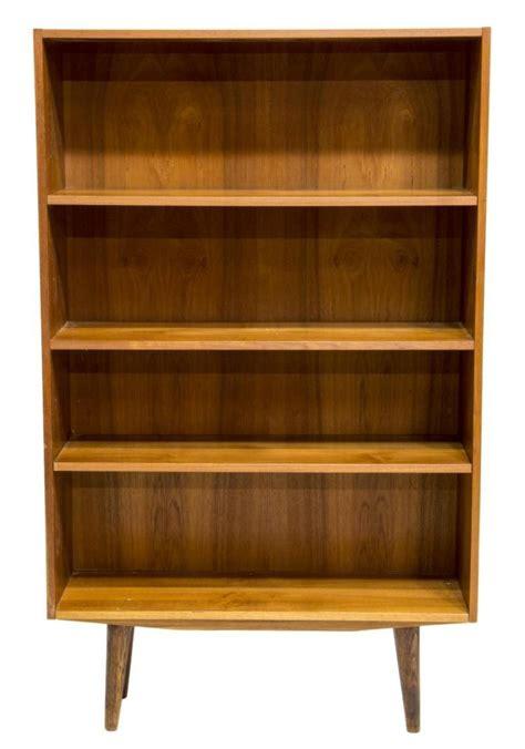 mid century bookshelves mid century modern teakwood bookcase