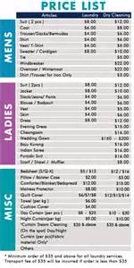 singapore cleaning cleaning laundry pricelist