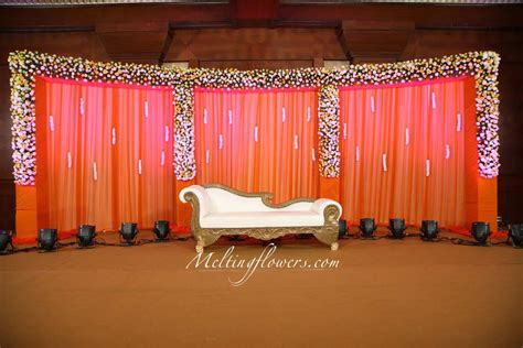 Marriage Home Decoration by Wedding Backdrops Backdrop Decorations Melting Flowers