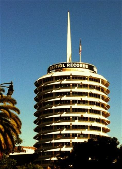 L A Records Capitol Records Tower Los Angeles Conservancy