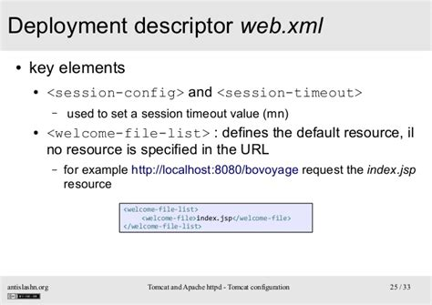 url pattern in web xml for jsp tomcat and apache httpd training