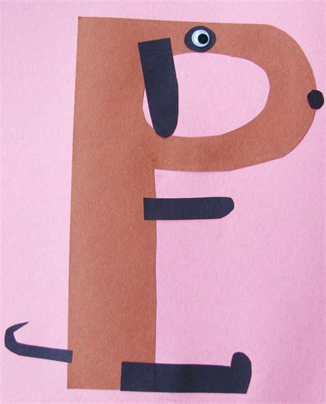 Papercraft Alphabet - best 20 letter p crafts ideas on letter p