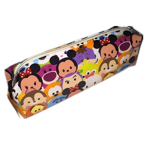 Tsum Tsum Pouch Mickey Minnie tsum tsum mickey minnie mouse donald duck pencil bag for gift in pencil bags