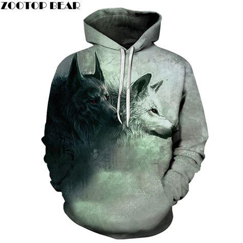 Hoodie Sweater Wolfs Premium wolf printed hoodies 3d brand sweatshirts hooded