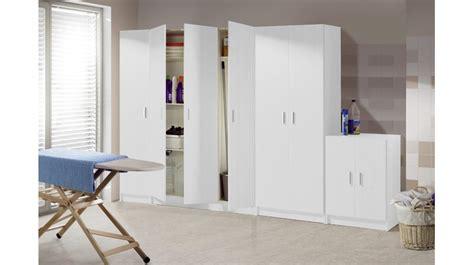 mobili multiuso mobile multiuso portascope 2 ante 4 ripiani bianco