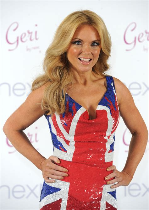 Is Geri Halliwells New The Real Thing by Geri Halliwell At New Union Collection Launch In