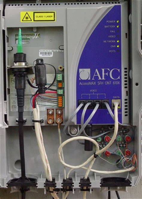 installing verizon fios fiber optic service to my