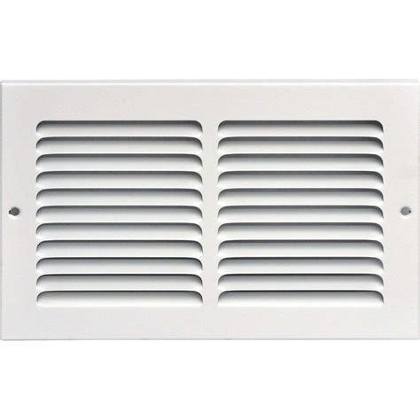 Diskon Rag Return Grill speedi grille 10 in x 6 in return air vent grille white with fixed blades sg 106 rag the
