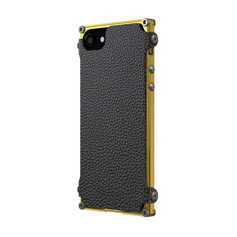Ibuy Iphone 6 6s Bumper Gold Stainless White List Casing vault 24k gold black leather iphone 6 6s gadgets