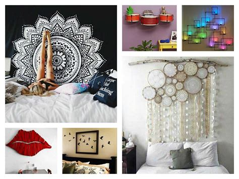 diy bedroom decorating ideas for creative wall decor ideas diy trends also awesome