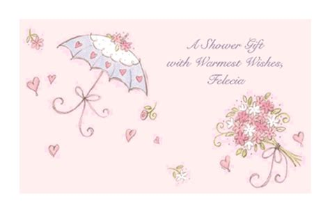 bridal shower gift card template shower of wishes greeting card bridal shower printable