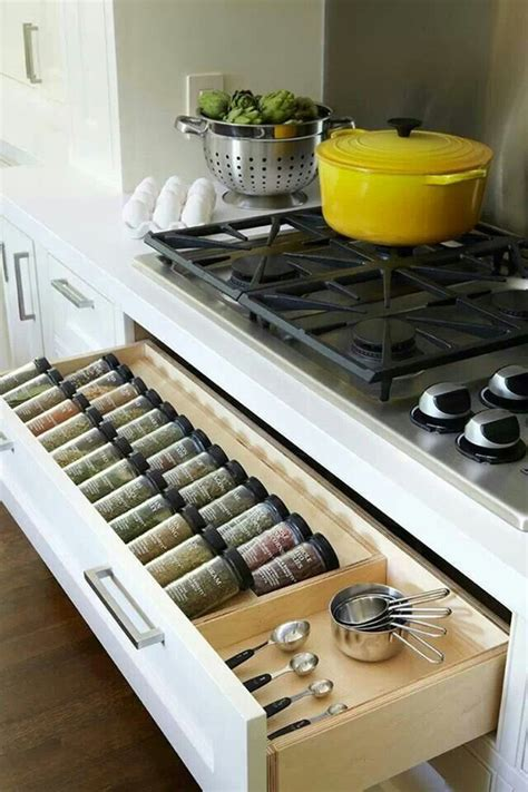 kitchen spice storage ideas 15 smart kitchen organization and saving ideas home