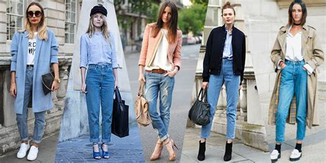 jean style trends 2015 how to style your mom jeans