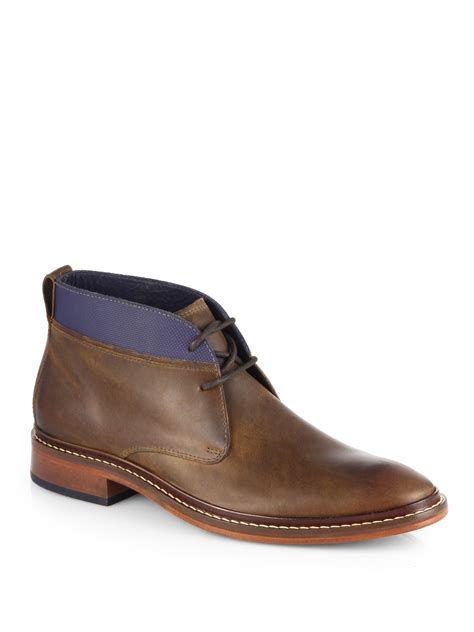 cole haan mens chukka boots cole haan colton winter chukka boots in brown for