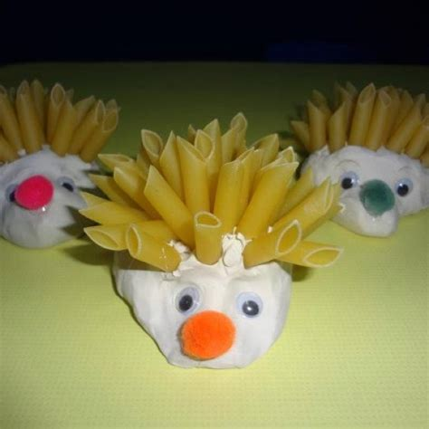 pasta crafts for use playdough and pasta and make a beautiful craft of a