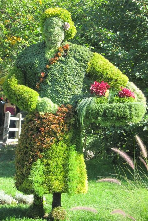 botanic garden food living sculptures at the montreal botanical gardens