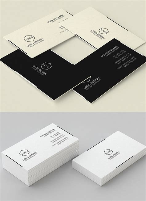 minimalist business cards free downloads templates 30 minimalistic business card designs psd templates