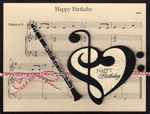 clarinet birthday card birthdays happy and happy birthday