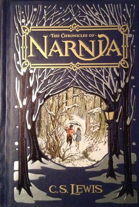 the chronicles of narnia stories chronicles of narnia in a single leatherbound