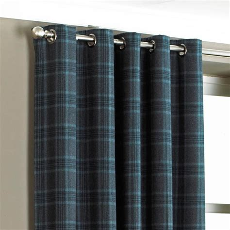 tartain curtains tartan curtain