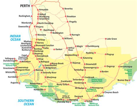 map of western australia map of western australia 28 images western australia