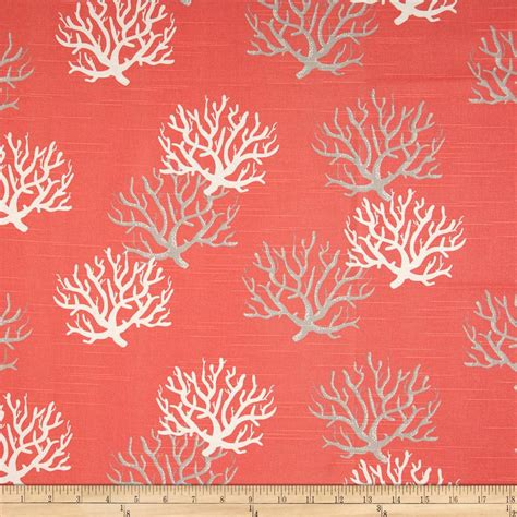 Salmon Colored Curtains Designs Premier Prints Isadella Coral Slub Salmon Discount Designer Fabric Fabric